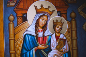 Behold Mary and Jesus Icon